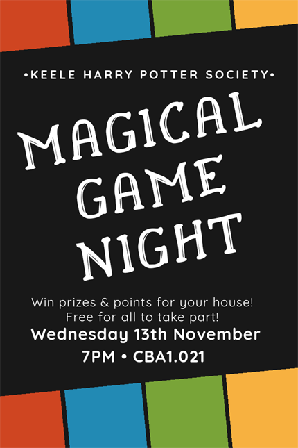 Magical Game Night!
