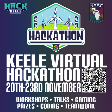 Hack Keele/KBSC Virtual Hackathon