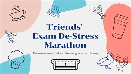Friends Marathon - Exam Plus
