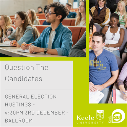 General Election Candidates Hustings