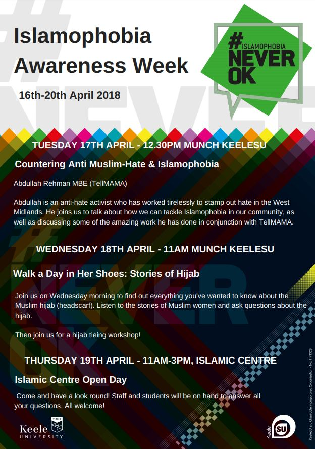 Islamophobia Awareness Week