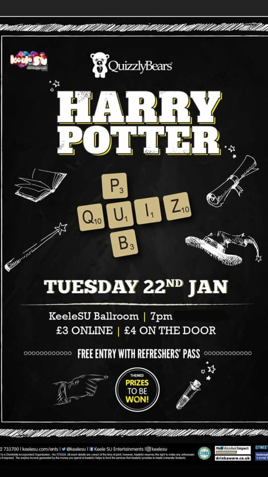 Quizzly Bears 'Harry Potter' Quiz Takeover (Show 1)