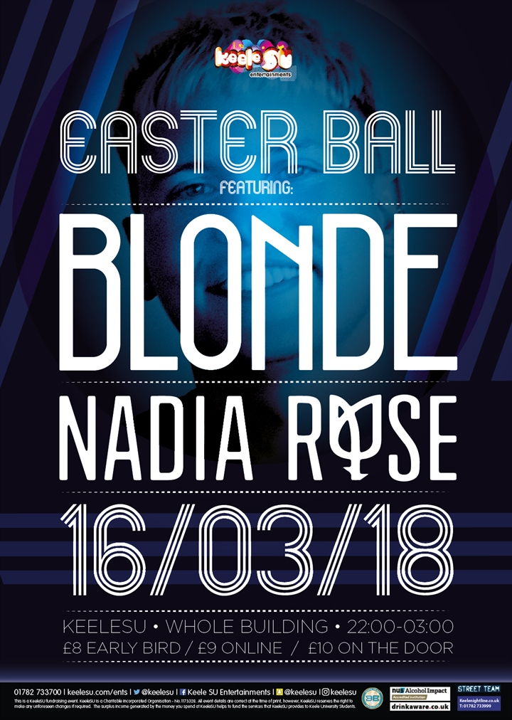 Easter Ball feat. Blonde + Nadia Rose