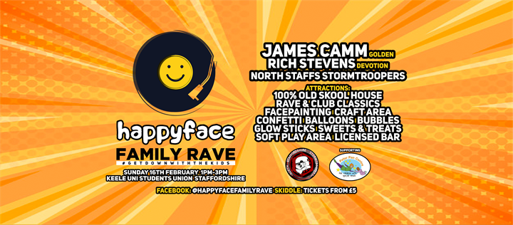 Happyface Family Rave