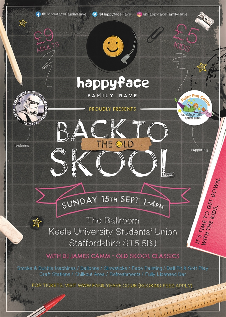 Happyface Family Rave - Back to the Old Skool
