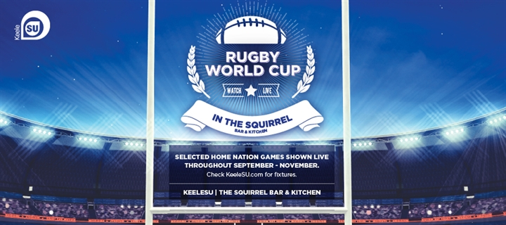 Rugby World Cup Live in The Squirrel