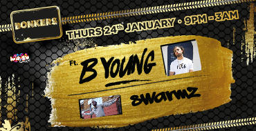 Bonkers ft. Special Guests B Young & Swarmz