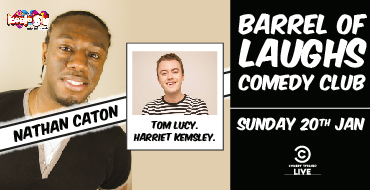 Barrel of Laughs ft. Special Guests Nathan Caton, Tom Lucy + M.C. (Show 2)