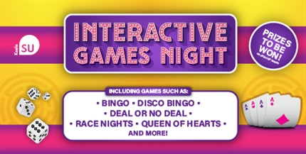 Interactive Games Night in the SU!