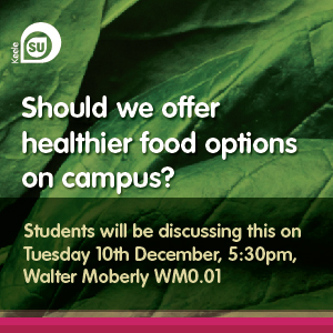 Should we offer healthier food options on campus?