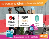 click here to get your NUS Extra card