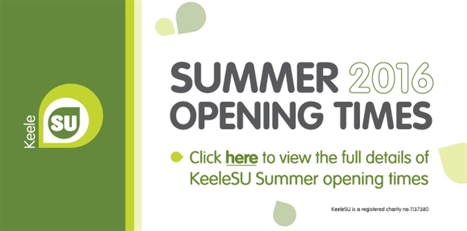 Click for Summer Opening times 2016