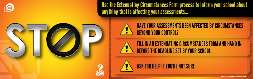 ASK help: Extenuating Circumstances