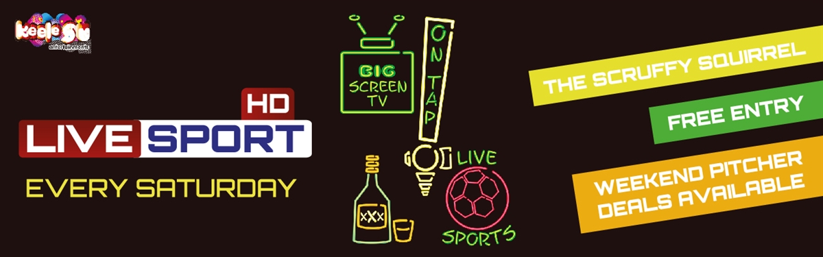 Banner: Live sport every Saturday