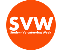 Student Volunteering & RAG Week infographic