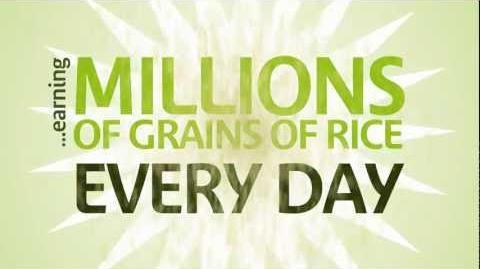 Earning millions of grains of rice every day