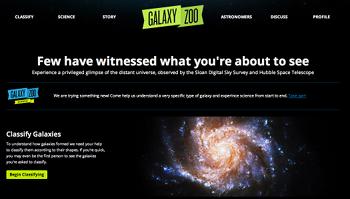 Galaxy Zoo Project