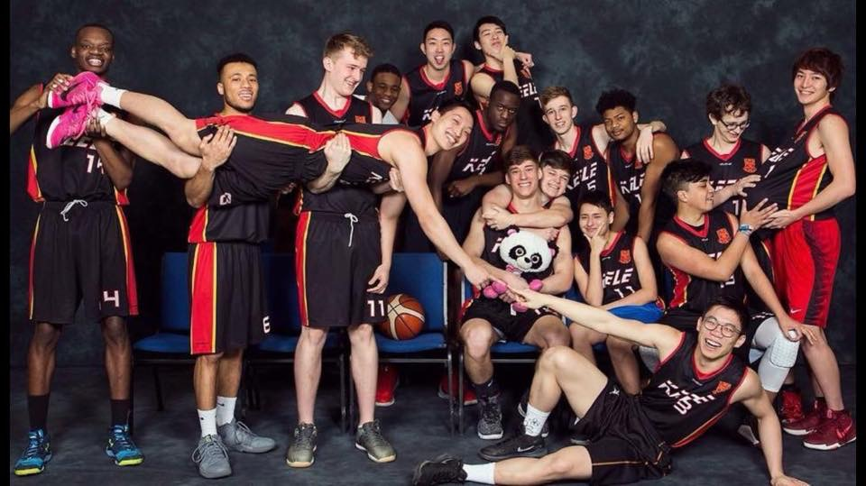 Men's Basketball fun photo