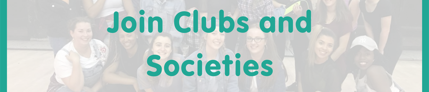 Find out more about our clubs and societies