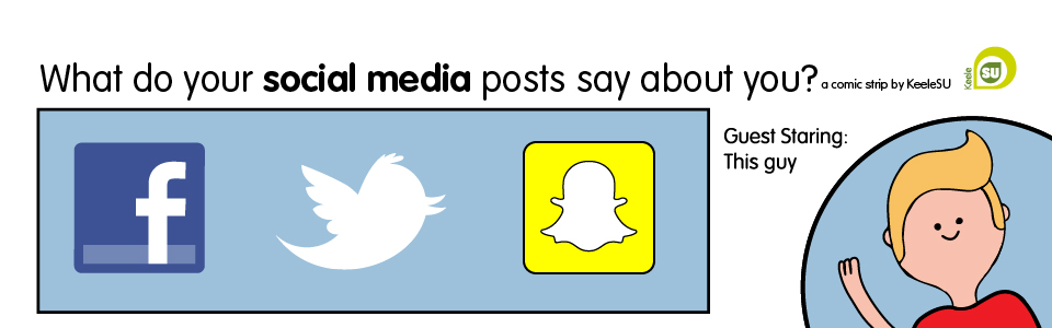 image: What do you social media posts say about you?