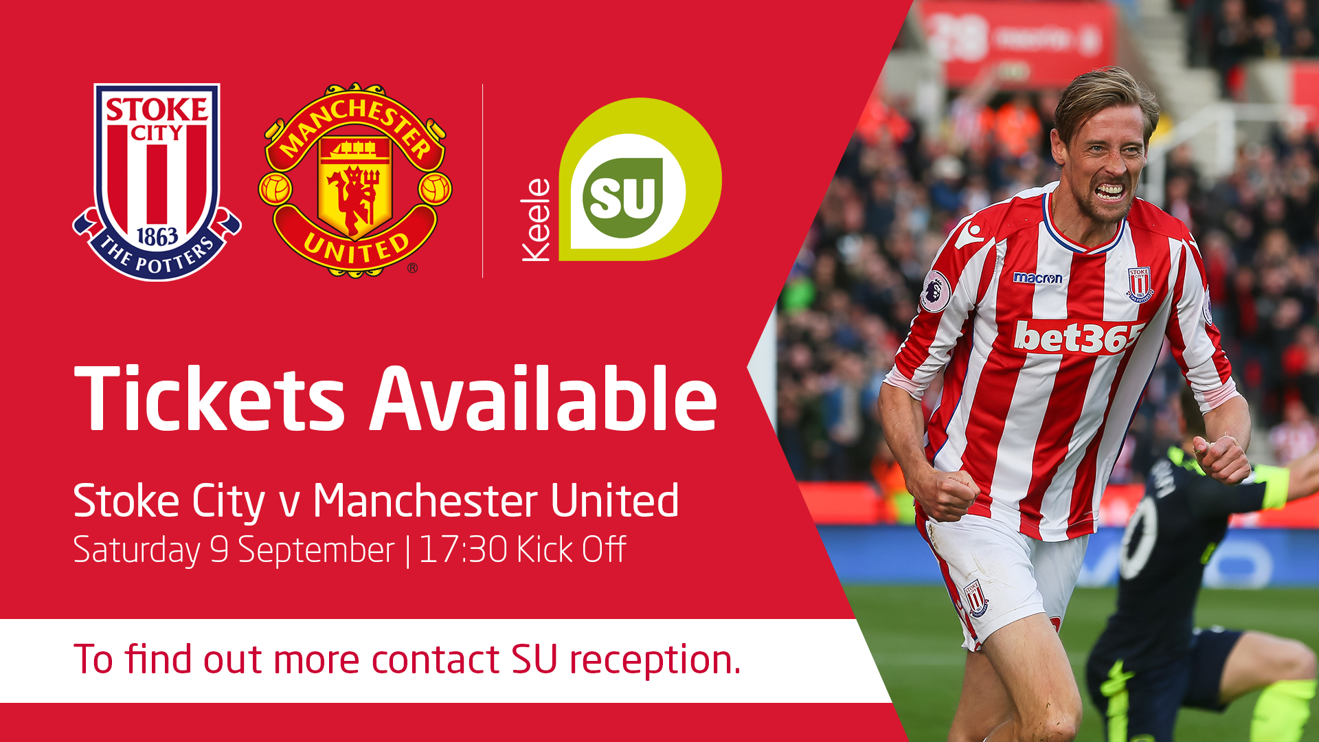 Stoke City/Manchester Tickets Available