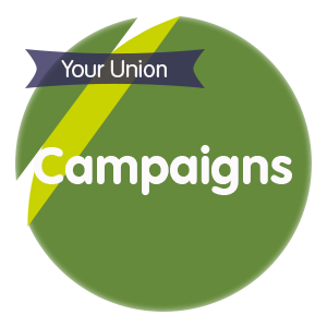 "Click here for ""Campaigns"""