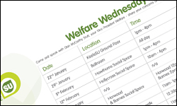image: Welfare Wednesday