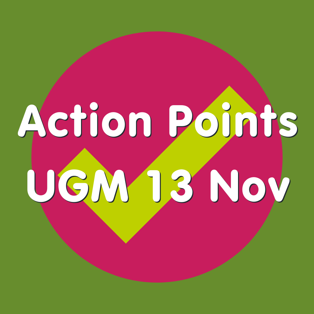 Action Points 13 Nov
