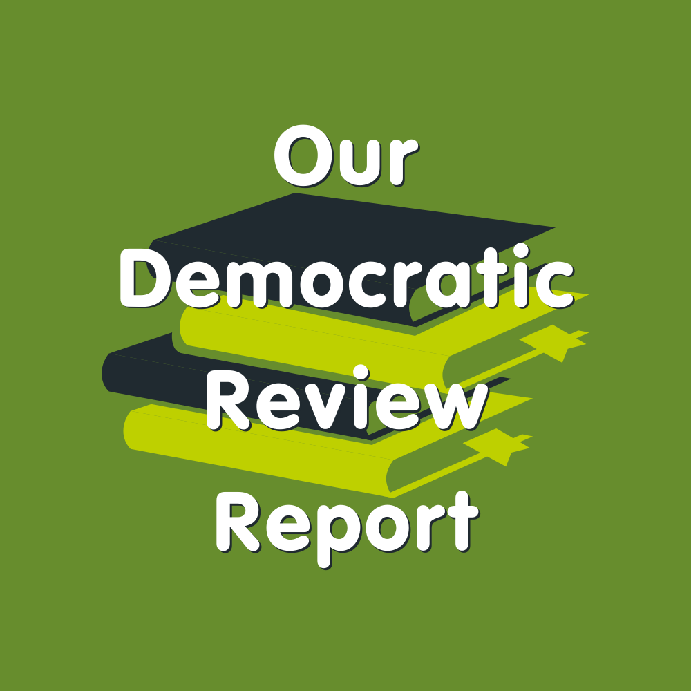 Our democratic review report