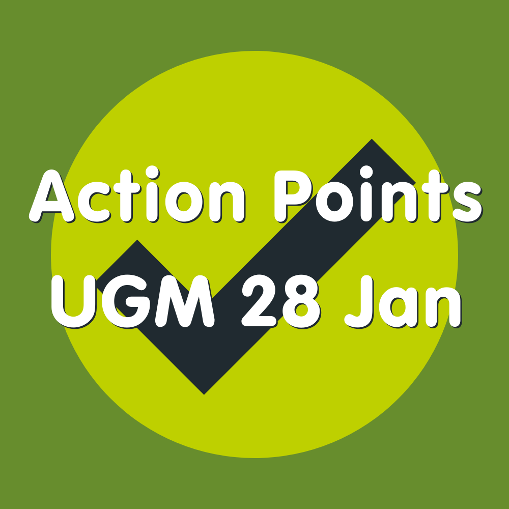 Action Points 28 Jan