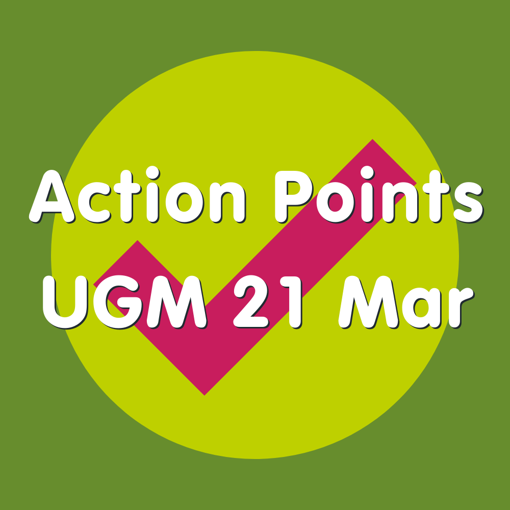 Action Points 21 Mar