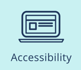 Image: laptop to represent Accessibility