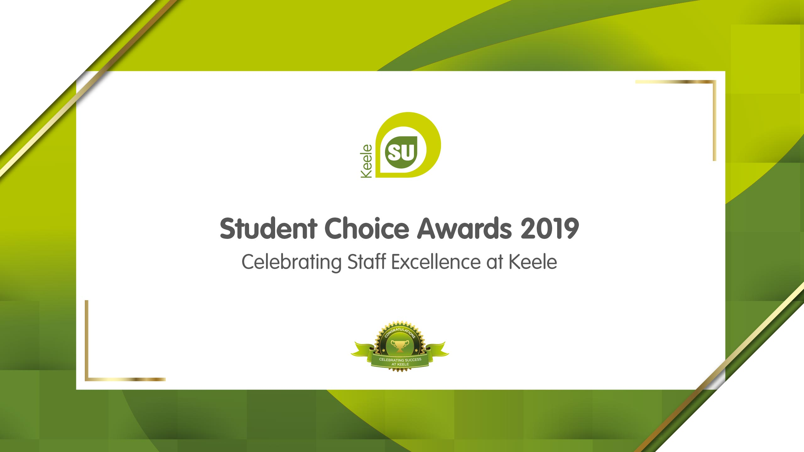 Student Choice Awards 2019