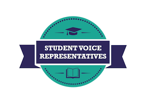 Student Voice Representative Logo